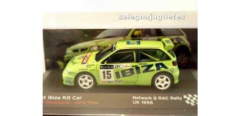 Seat Ibiza Kit Car Rally Rac Rovanpera escala 1/43 Ixo