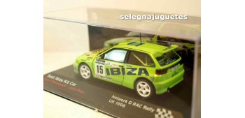 Seat Ibiza Kit Car Rally Rac Rovanpera escala 1/43 Ixo Ixo