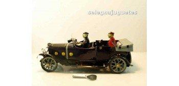 Coche con pasajero y conductor artículo de hojalata Jaya