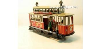 Tranvía San Francisco artículo de hojalata Jaya