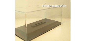 coche miniatura Vitrina expositora urna Plástica con Peana para