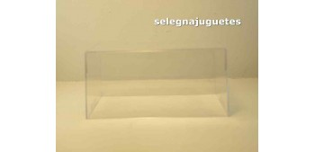 Vitrina expositora urna Plástica Rba Altaya Antiguos Autoplus escala 1/43