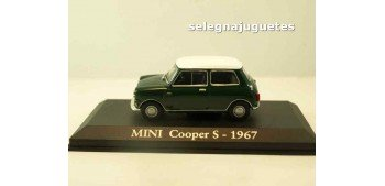 miniature car Mini Cooper S 1967 (Vitrina) escala 1/43 Ixo -