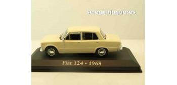 Fiat 124 1968 (Vitrina) escala 1/43 Ixo - Rba - Clásicos inolvidables coche metal miniatura