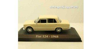 Fiat 124 1968 (Vitrina) escala 1/43 Ixo - Rba - Clásicos inolvidables coche metal miniatura Altaya