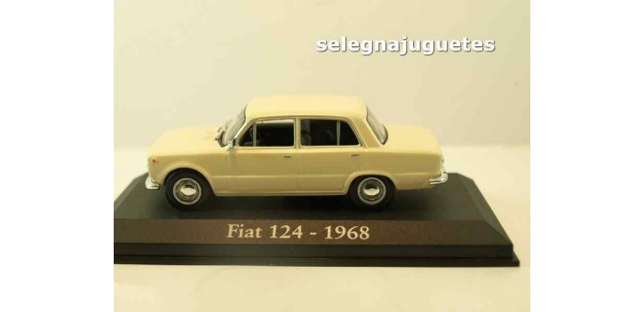 Fiat 124 1968 (Vitrina) escala 1/43 Ixo - Rba - Clásicos inolvidables coche metal miniatura Coches a escala 1/43