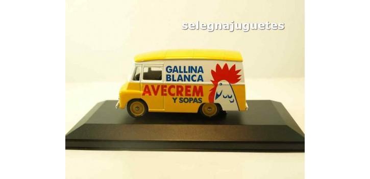 Morris Ld 150 Van Gallina Blanca - Avecrem (vitrina) corgi furgoneta