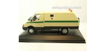 GAZ 3302 GAZEL RATNIK BLINDADO RUSO (vitrina) escala 1/43 coche