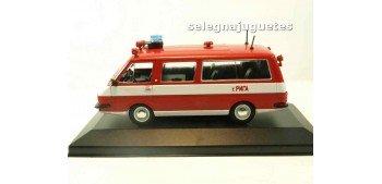 RAF AL 22034 bus VEHÍCULO DE BOMBEROS-RUSIA (vitrina) escala 1/43 coche