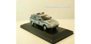 Lada 112 Policía Rusa (vitrina) escala 1/43 coche metal miniatura