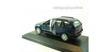 Bmw X5 (vitrina) azul 1/43 Motor max