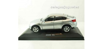 coche miniatura Bmw X6 gris (vitrina) escala 1/34 a 1/39 Welly