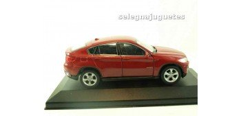 Bmw X6 rojo (vitrina) escala 1/34 a 1/39 Welly Coche metal