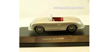 Porsche nº 1 1948 (vitrina)1/43 HIGH SPEED COCHE ESCALA High Speed