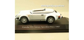 Porsche 911 carrera speedster 1987 race (vitrina) 1/43 HIGH SPEED COCHE