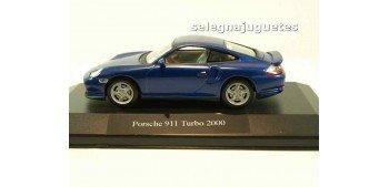 coche miniatura Porsche 911 turbo 2000 (vitrina) 1/43 HIGH