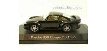 miniature car Porsche 959 Coupe 2.0 1986 (vitrina) escala 1/43