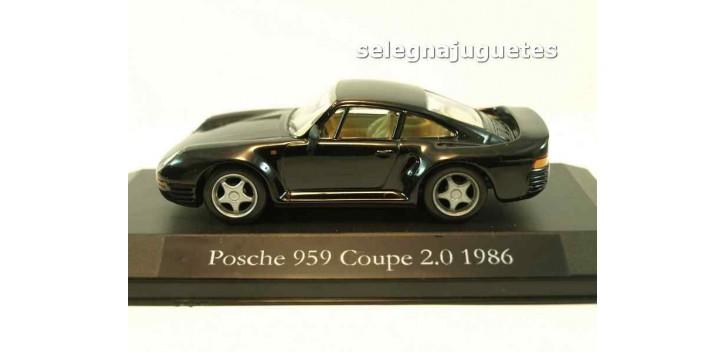 coche miniatura Porsche 959 Coupe 2.0 1986 (vitrina) escala