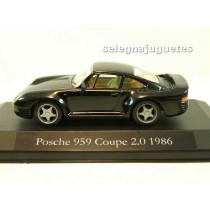 <p>Fabricante - Manufacturer - Fabricant - Hersteller: <strong>HIGH SPEED</strong></p> <p>Escala - Scala - Echelle - Mabstab: <strong>1/43 - 1:43</strong></p> <p>Modelo - Model - Modèle - Modell: <strong>Porsche 959 coupe 2.0 1986(vitrina)</strong></p>