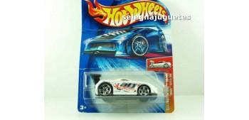 Toyota Mr2 escala (carton doblado) 1/64 Hot wheels