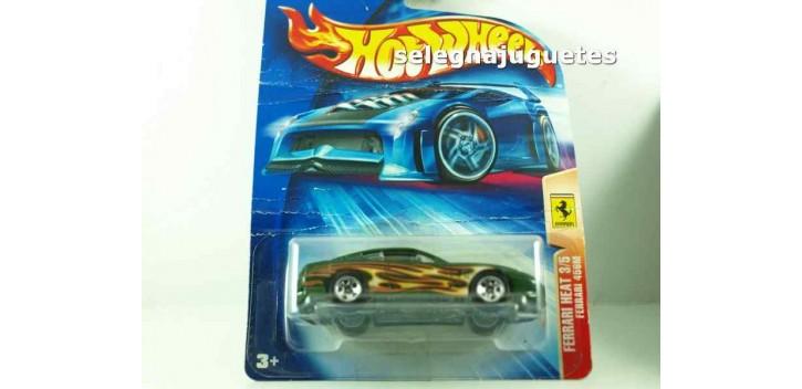 Ferrari 456M escala 1/64 Hot wheels (cartón doblado)