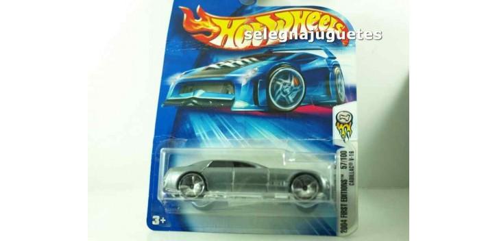 Cadillac V16 escala 1/64 Hot wheels (cartón doblado)