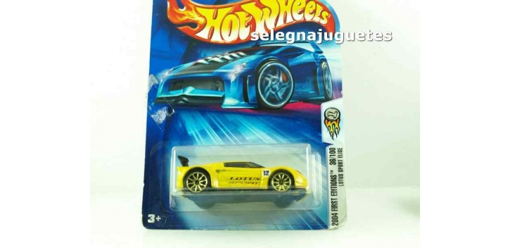 Lotus Sport Elise escala 1/64 Hot wheels coche miniatura escala