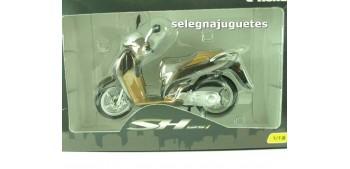 moto miniatura Honda SH125i escala 1/12 moto metal miniatura