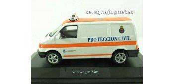 Volkswagen van protección civil escala 1/43 Coche miniatura