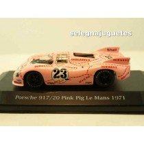 <p>Fabricante - Manufacturer - Fabricant - Hersteller: <strong>HIGH SPEED</strong></p> <p>Escala - Scala - Echelle - Mabstab: <strong>1/43 - 1:43</strong></p> <p>Modelo - Model - Modèle - Modell: <strong>Porsche 917/20 Pink Pig 1971 (vitrina)</strong></p>