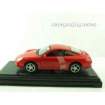 <p>Modelo - Model - Modèle - Modell:<strong>Porsche 911 carrera 1997(sin caja)</strong></p> <p>ESCALA - SCALE - ECHELLE - MABSTAB:<strong>1/38 - 1:38</strong></p> <p>Fabricante - Manufacturer - Fabricant - Hersteller:<strong>Maisto</strong></p>