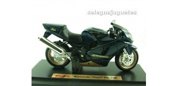 Kawasaki nija zx 12r (sin caja) escala 1/18 Maisto moto miniatura (sin caja)
