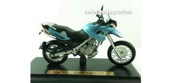 Bmw f 650 gs scale 1/18 Maisto moto miniatura (sin caja)