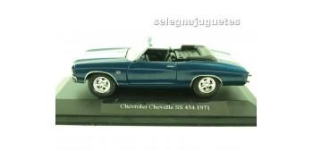 miniature car Chevrolet Chevelle SS 454 1971 (showbox) escala