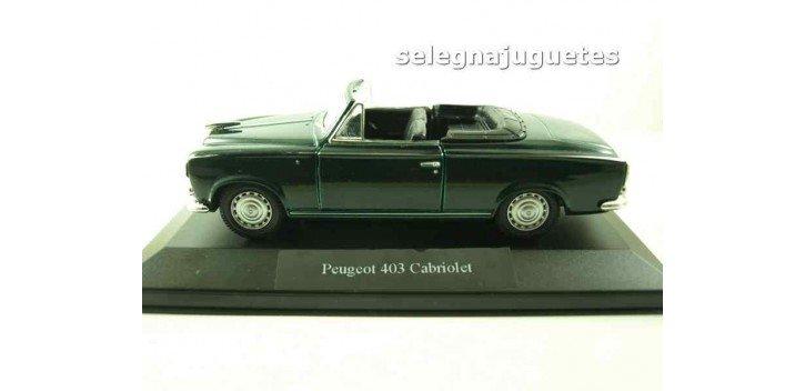 Peugeot 403 cabriolet (vitrina) escala 1/36 - 1/38