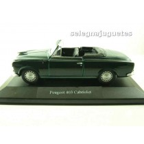 <p>Modelo - Model - Modèle - Modell:<strong>Peugeot 403cabriolet (vitrina)</strong></p> <p>ESCALA - SCALE - ECHELLE - MABSTAB:<strong>Aproximada1:36 - 1/38</strong></p> <p>Fabricante - Manufacturer - Fabricant - Hersteller:<strong>Welly</strong></p>