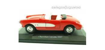 miniature car Chevrolet Corvette 1957 (showbox) escala 1/36 -