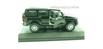 Hummer H3 negro (vitrina) escala 1/34 a 1/39 Welly
