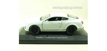 Bentley Continental Supersports blanco (shobox) scale 1/34 a 1/39 Welly