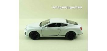 Bentley Continental Supersports blanco escala 1/34 a 1/39 Welly Coche metal miniatura