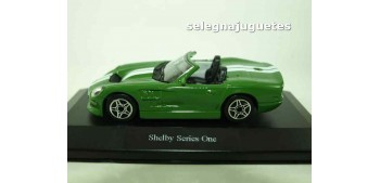 Shelby Series One (vitrina) 1/43 Burago Coches a escala