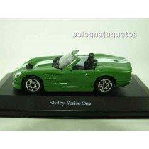 <p>Fabricante - Manufacturer - Fabricant - Hersteller: <strong>BBURAGO</strong></p> <p>Escala - Scala - Echelle - Mabstab: <strong>1/43 - 1:43</strong></p> <p>Modelo - Model - Modèle - Modell: <strong>Shelby Series One (vitrina)</strong></p>