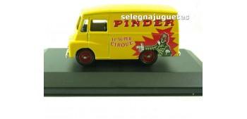 Morris Ld 150 Van Pinder (vitrina) corgi furgoneta camión coche miniatura