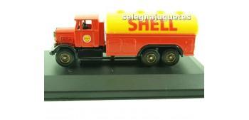 Scamell Shell (vitrina) Corgi furgoneta camión coche miniatura