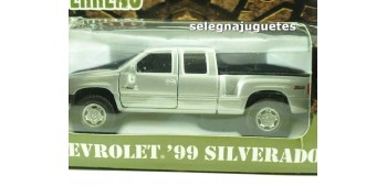coche miniatura Chevrolet 99 Silverado escala 1/39 welly