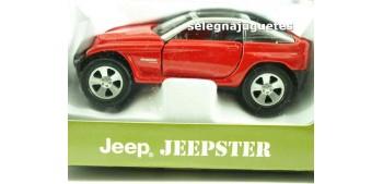 Jeep Jeepster escala 1/39 Maisto Todoterreno