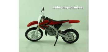miniature motorcycle Honda CR250 escala 1/18 Welly moto