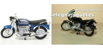 Lote 2 motos Bmw (75-5 - R100S) scale 1:18 Welly