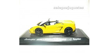 miniature car Lamborghini Gallardo LP560-4 2009 yellow escala