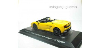 coche miniatura Lamborghini Gallardo LP560-4 2009 yellow escala